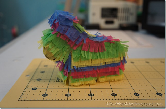 finished pinata