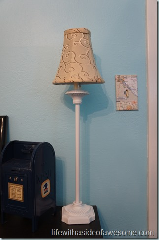first lampshade