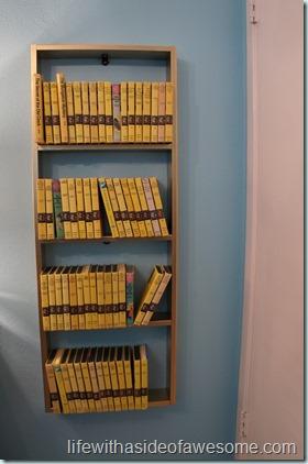 the finished shelf
